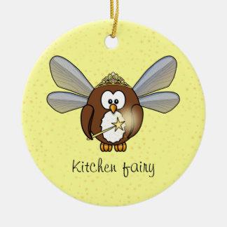 owl fairy ornaments