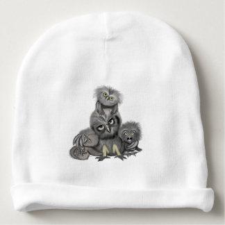 Owl Family Baby Beanie