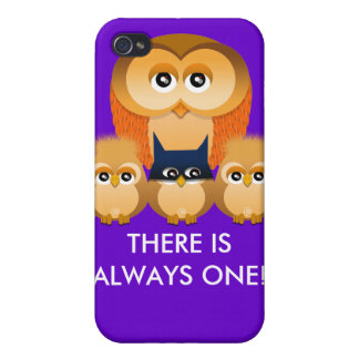 OWL FAMILY iPhone 4 COVERS