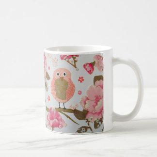 Owl Floral Mug