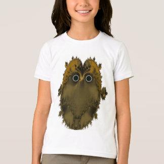 Owl Fractal Girls T-shirt