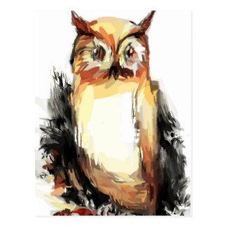 Owl Fun Postcard