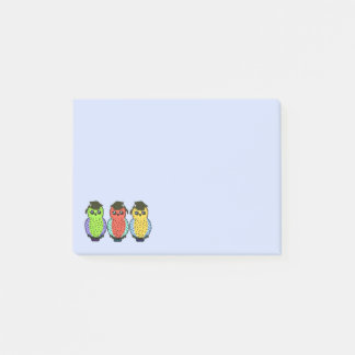 Owl Grads Post-it Notes