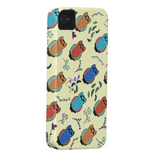 Owl Hoot iPhone 4 Case-Mate Cases