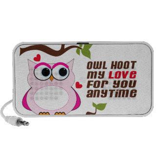 Owl Hoot Portable Speakers