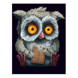 Owl-icious Postcard