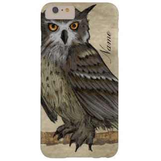 Owl Illustration Barely There iPhone 6 Plus Case