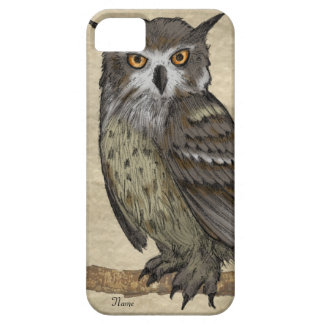 Owl Illustration iPhone 5 Covers