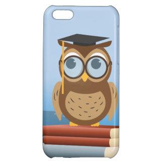 Owl illustration iPhone 5C cases
