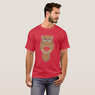 Owl Illustration T-Shirt
