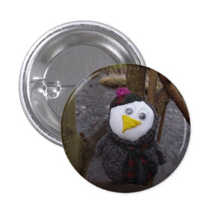 Owl in a Tree 3 Cm Round Badge