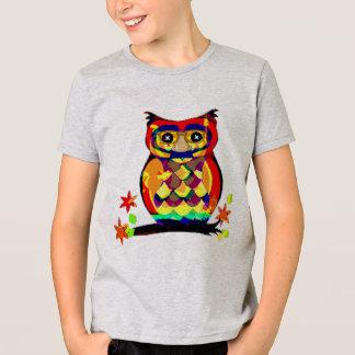 owl in glasses funny t-shirt design gift idea
