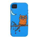 Owl in Heart Tree