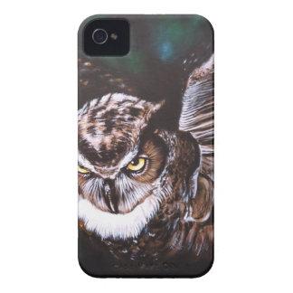 Owl in the night Case-Mate iPhone 4 case