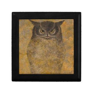 Owl Japanese Fine Art Gift Box