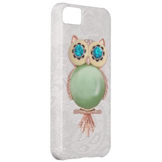 Owl Jewel & Paisley Lace iPhone 5 Case