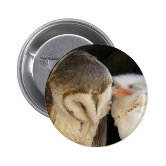 Owl Kisses! 6 Cm Round Badge