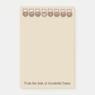 Owl Line Post-it Notes