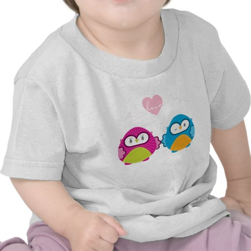 OWL LOVE :: bright girl + boy T Shirt