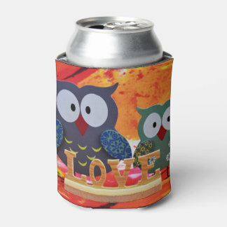Owl love can cooler