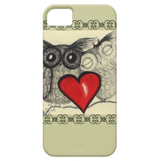 Owl Love - Case For The iPhone 5