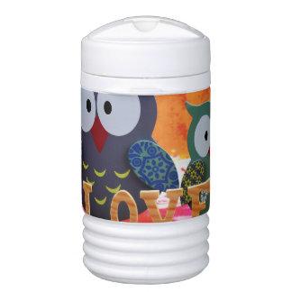 Owl love drinks cooler