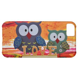 Owl love iPhone 5C case