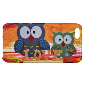 Owl love iPhone 5C cover