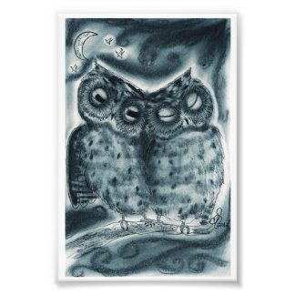 Owl Love Photo Print