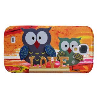 Owl love samsung galaxy s4 cover