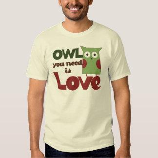 Owl Love T Shirt