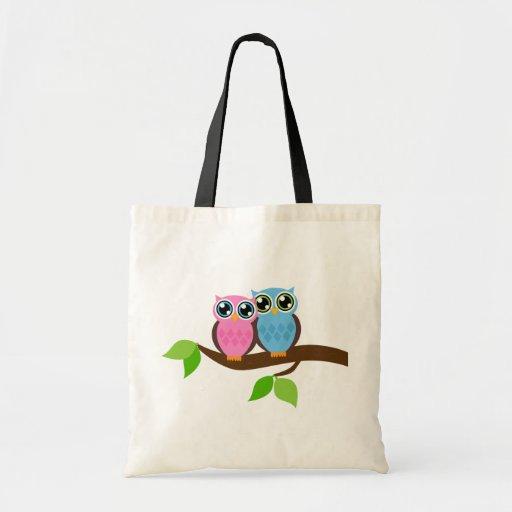 Owl love you tote bag