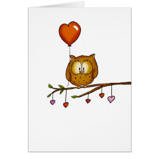 Owl love you - Valentine's Day gift Card