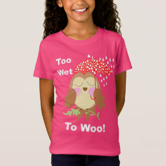 Owl Lovers Super Cute Funny Graphic T-Shirt