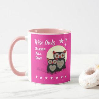 Owl Lovers Super Cute Funny Personalized Mug