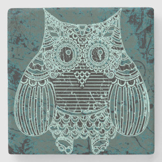 Owl Marble Stone Coaster