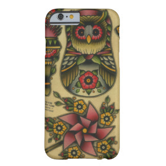 owl matroyshka pinwheel barely there iPhone 6 case