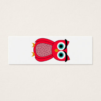 Owl Mini Business Card