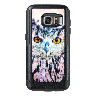 Owl Mixed Media OtterBox Samsung Galaxy S7 Case