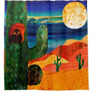 Owl Moon Shower Curtain