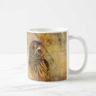 Owl Mug -World s Wisest Granddad Mug w Barred Owl