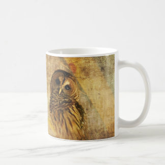 Owl Mug -World's Wisest Granddad Mug w/ Barred Owl