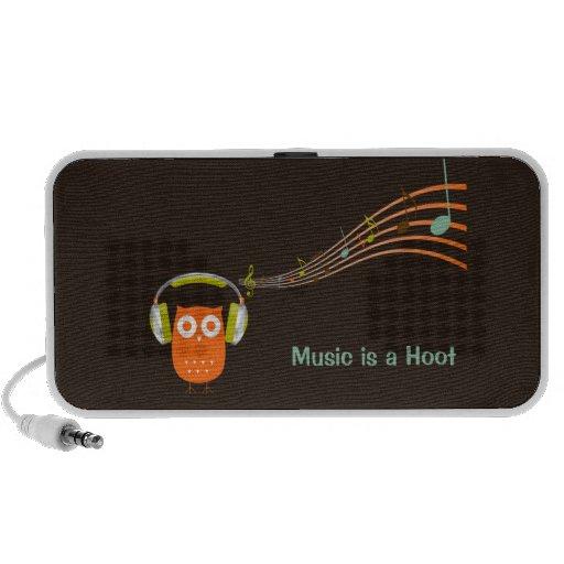 Owl Music Notes Speaker