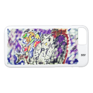 owl night art iPhone 8/7 case