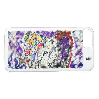 owl night art iPhone 8/7 case