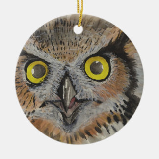 Owl Of The Night Christmas Ornament