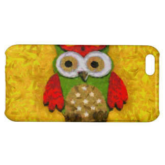 Owl painting iPhone 5C case