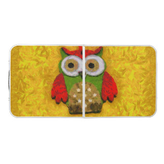 Owl painting pong table