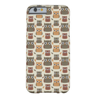 Owl pattern barely there iPhone 6 case