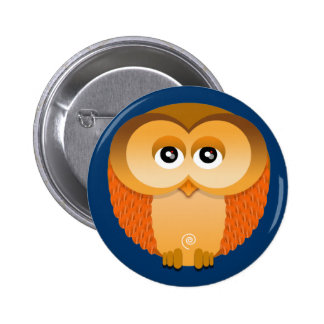 OWL PINBACK BUTTONS